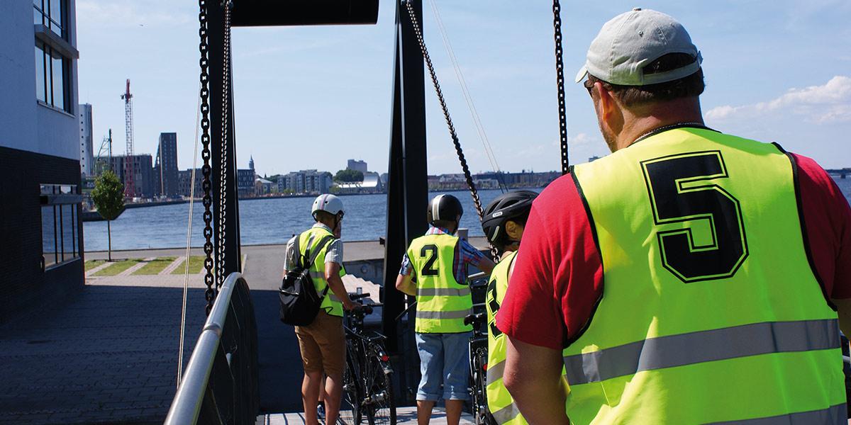 Ta med teamet ditt og opplev spennende Aalborg fra sykkelsetet!
