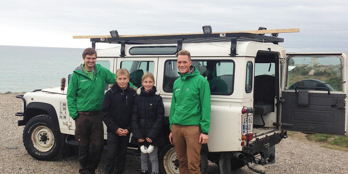 Land Rover-safari fra Løkken