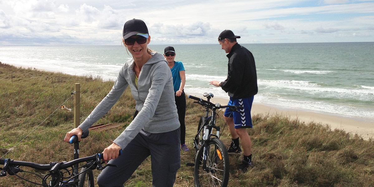 Legg ut på en frisk og aktiv tur langs den vakre danske kysten.