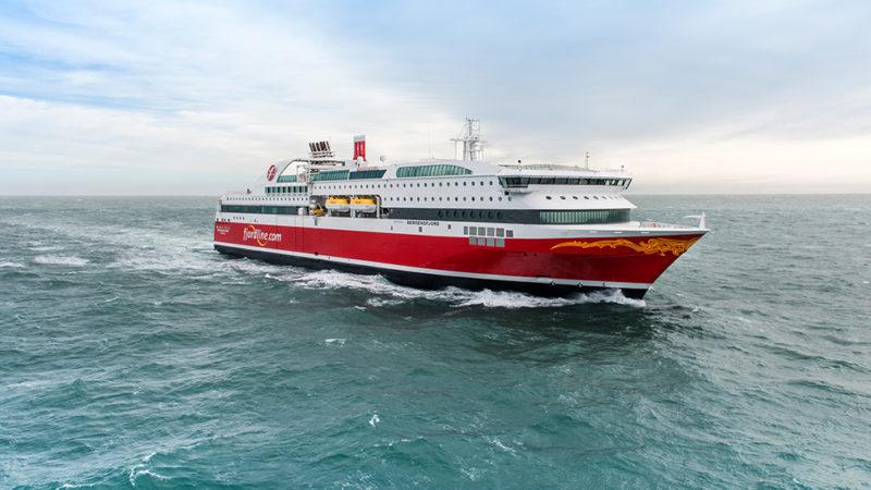MS Bergensfjord startet sine seilinger 9. mars 2014.