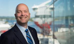 I januar 2015 tok Rickard Ternblom over som Fjord Lines nye konsernsjef.