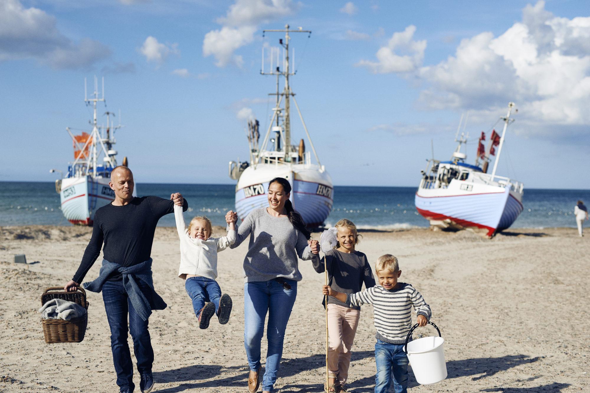 Deilige Danmark: En Danmarks-ferie med familien er en flott måte å styrke familiesamholdet på. Foto: Visit Denmark/Niclas Jesseen