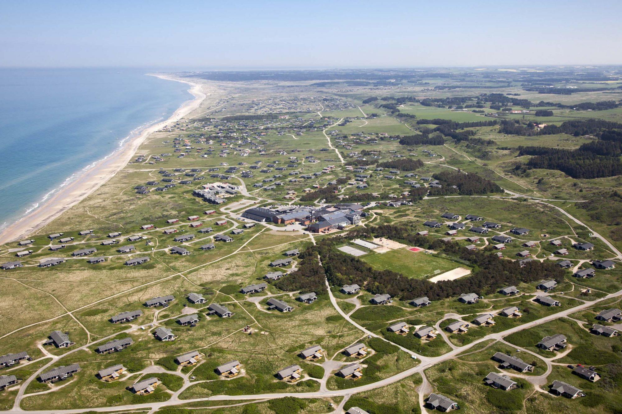 """Gigantområde som inneholder """"alt""""! Foto: Skallerup Seaside Resort"""