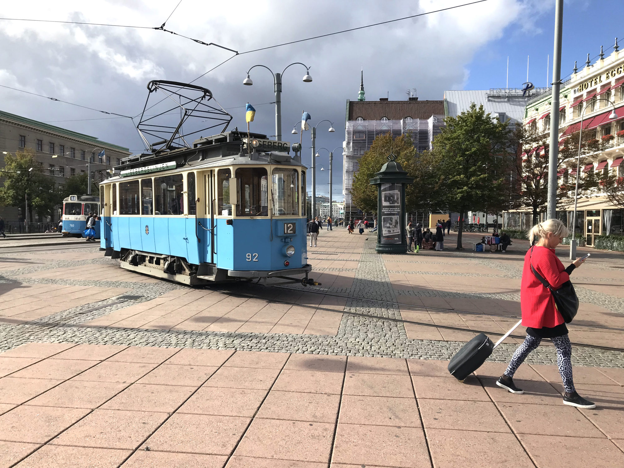 Ikonisk. Lisebergslinjen går stadig i rute fra sentrum til den populære fornøyelsesparken. Foto: Fjord Line