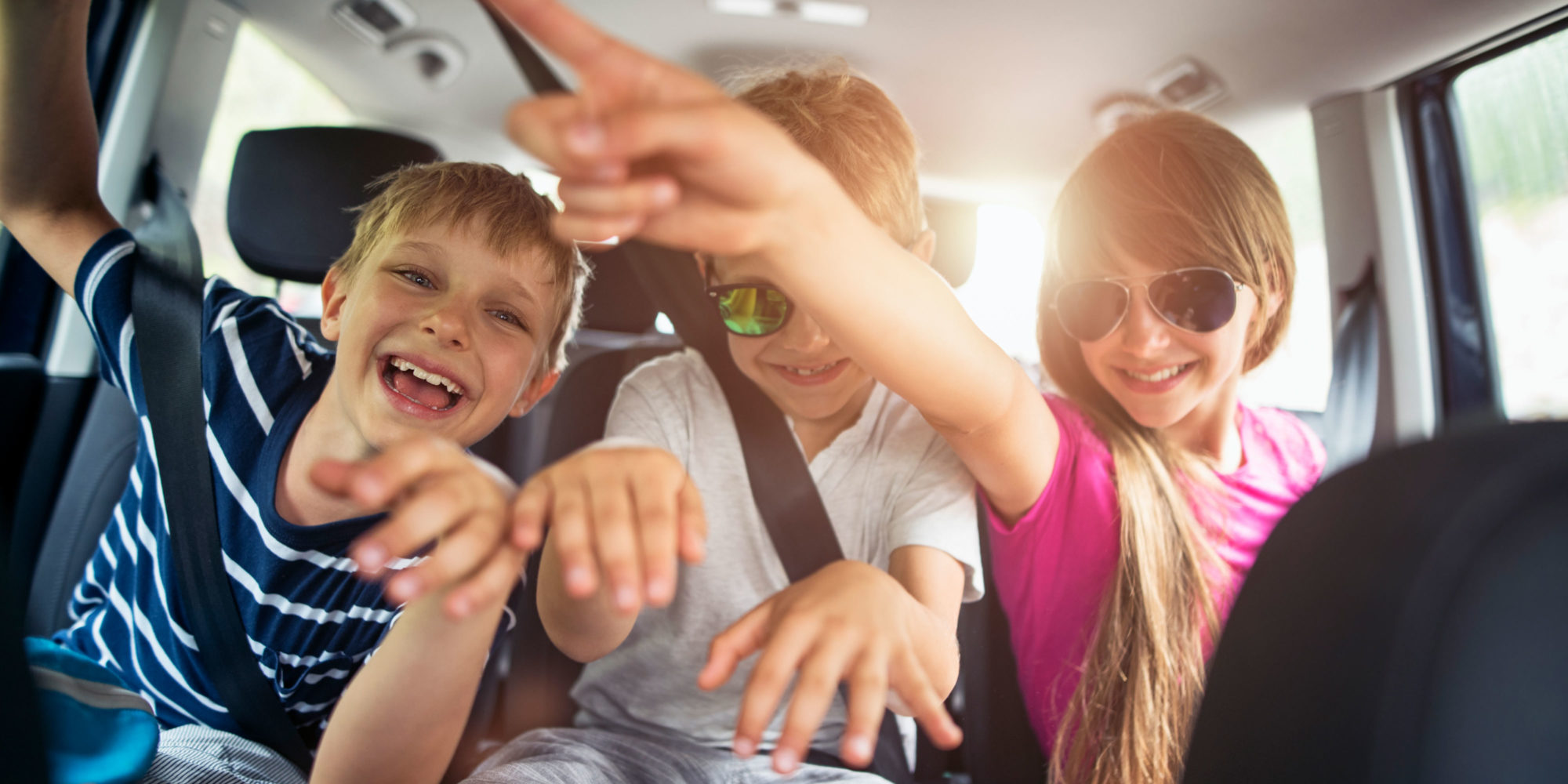 How to make your car trip fun! Photo: Imgorthand / GettyImages.
