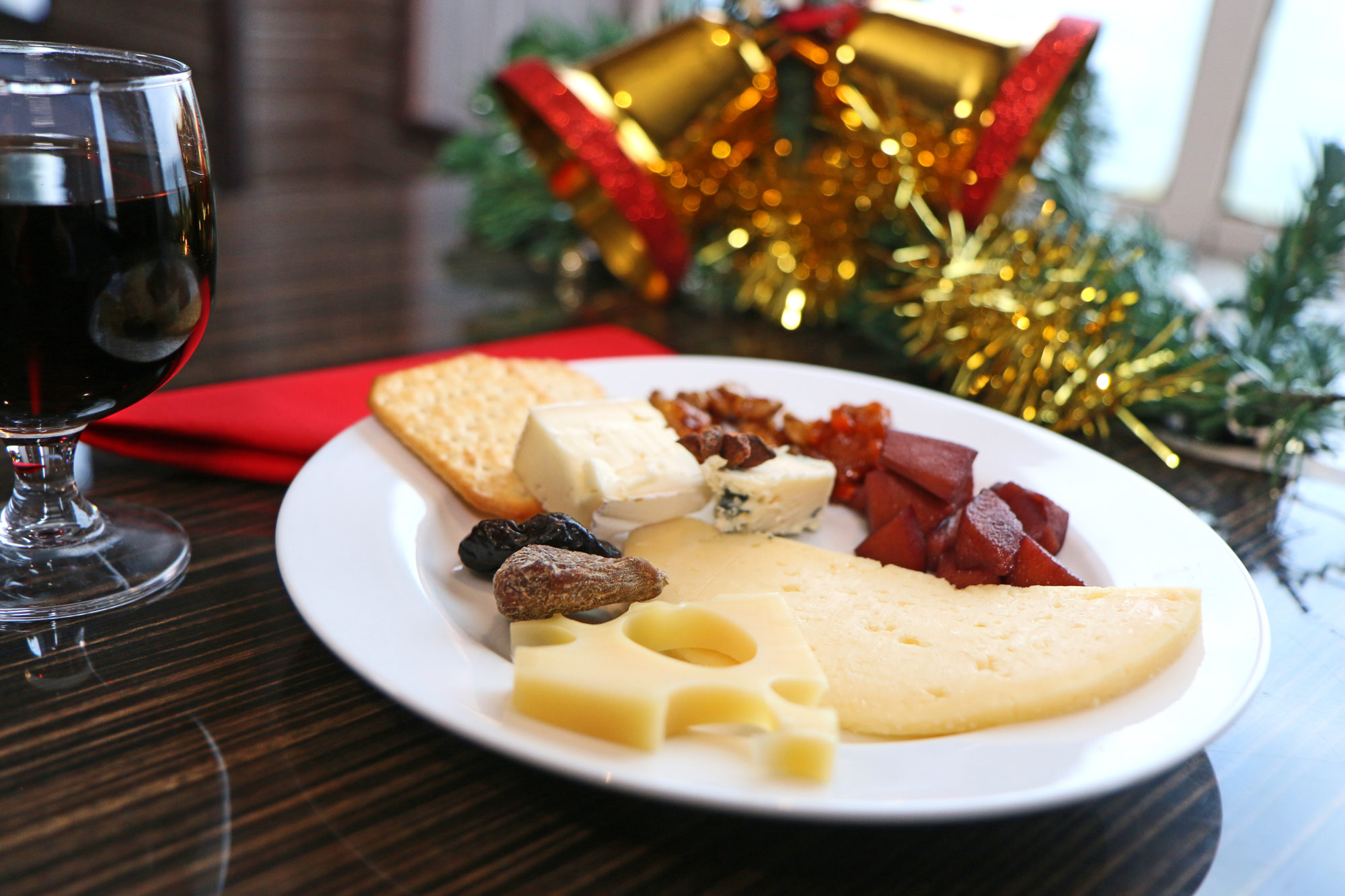 Alltid plass til lekre oster.