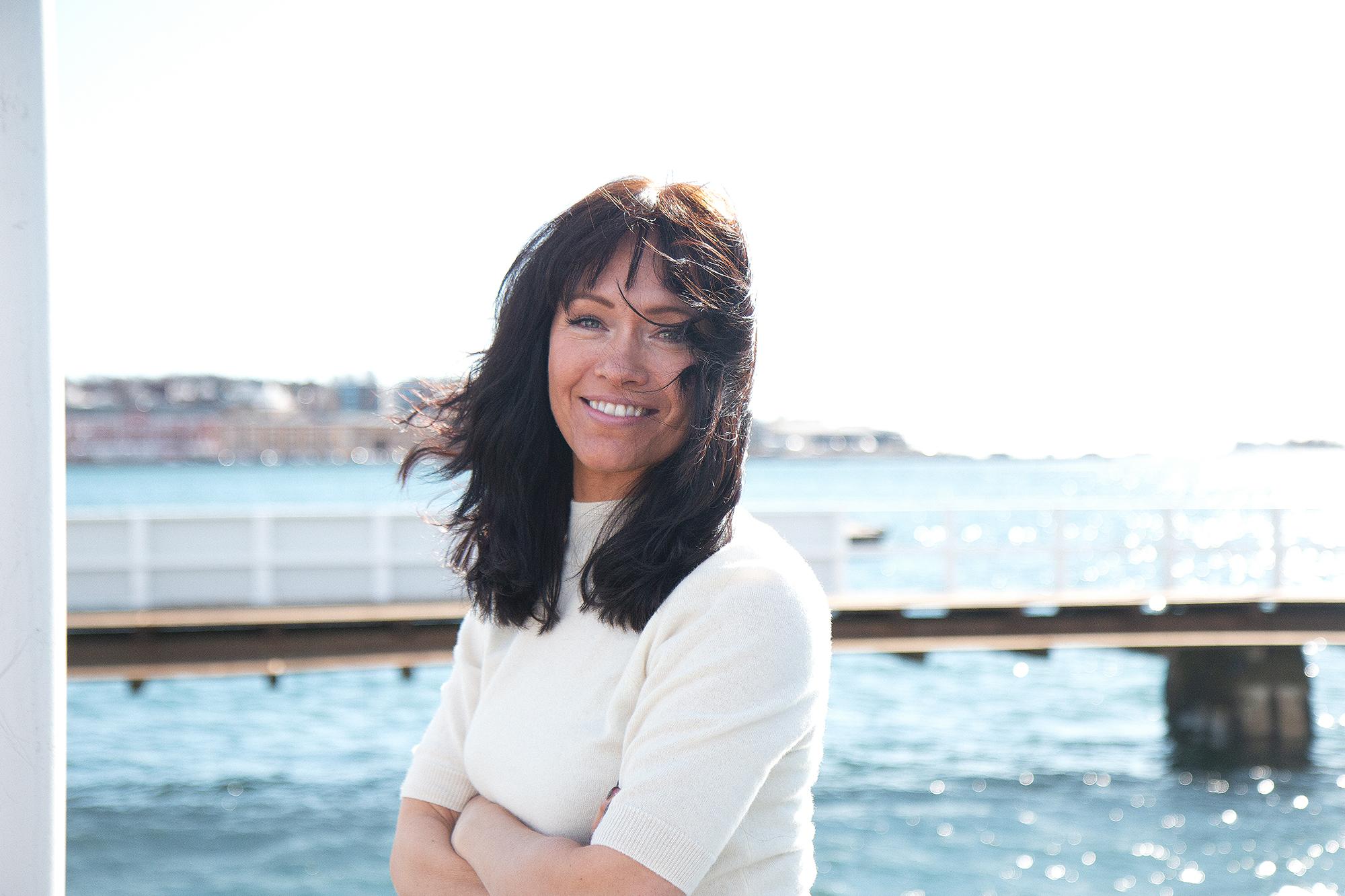 Gleder seg: Direktør for salg og marked i Fjord Line, Trine Lise Woldbæk. Foto: Fjord Line