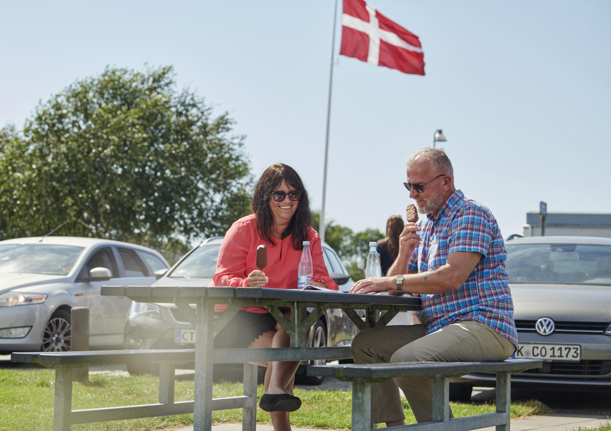 Gi gass mot nye eventyr! Korte avstander, hyppige attraksjoner og meget godt tilrettelagt veinett gjør Danmark til en drøm av et bilferieland. Foto: Fjord Line/M. Wanvik