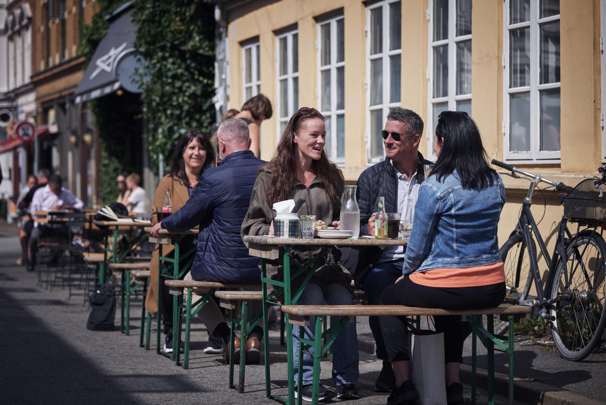 Det gode liv. Latinerkvarteret er stedet for mat, drikke, hygge og egenartet shopping. Foto: Fjord Line/M. Wanvik