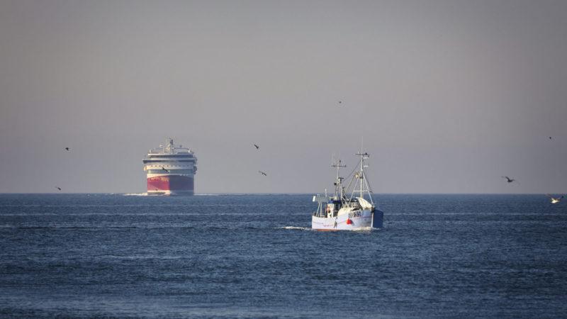 Med kursen mot Danmark. Fjord Line seiler med tre skip fra fire havner. Foto: Morten Wanvik/Fjord Line