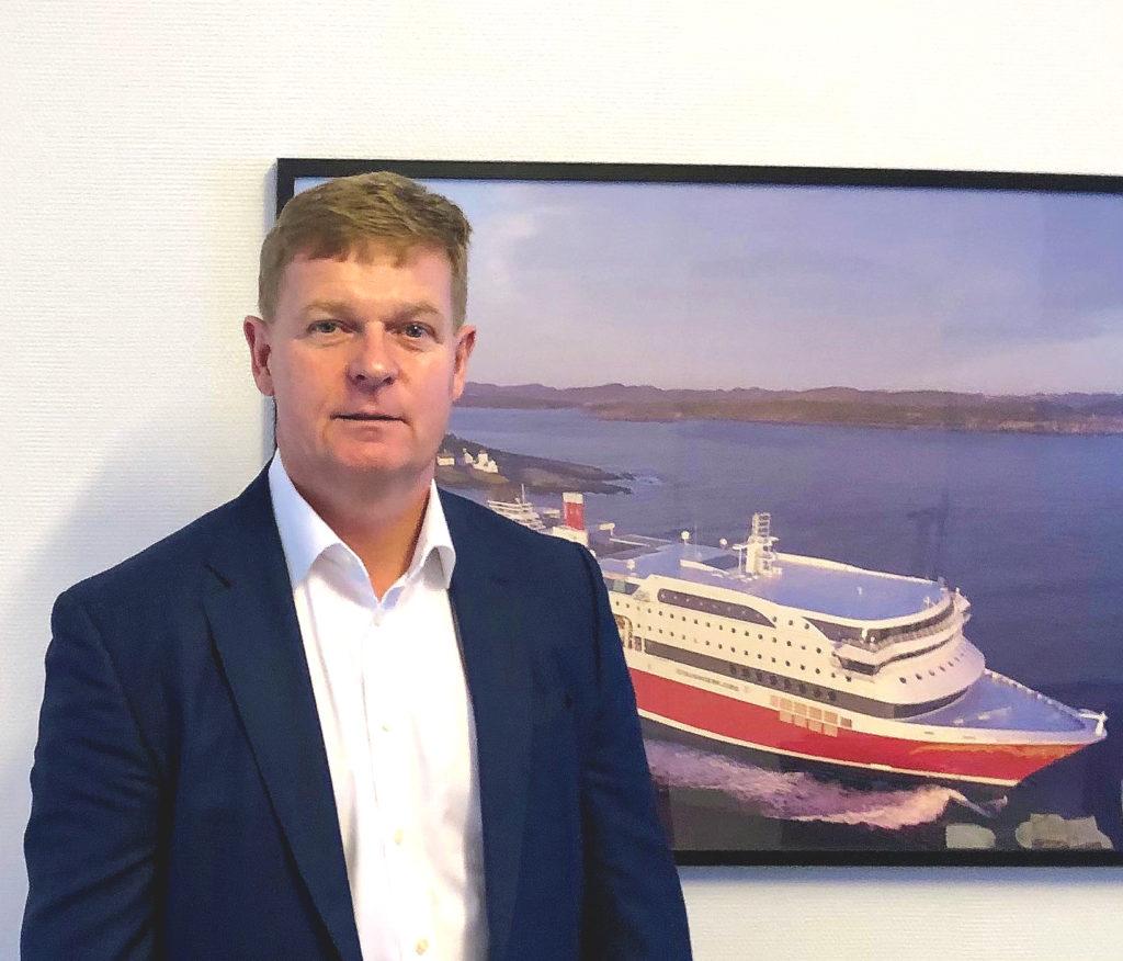 Briand Thorsted Hansen er konsernsjef i Fjord Line fra og med 18. januar 2021. Foto: Fjord Line