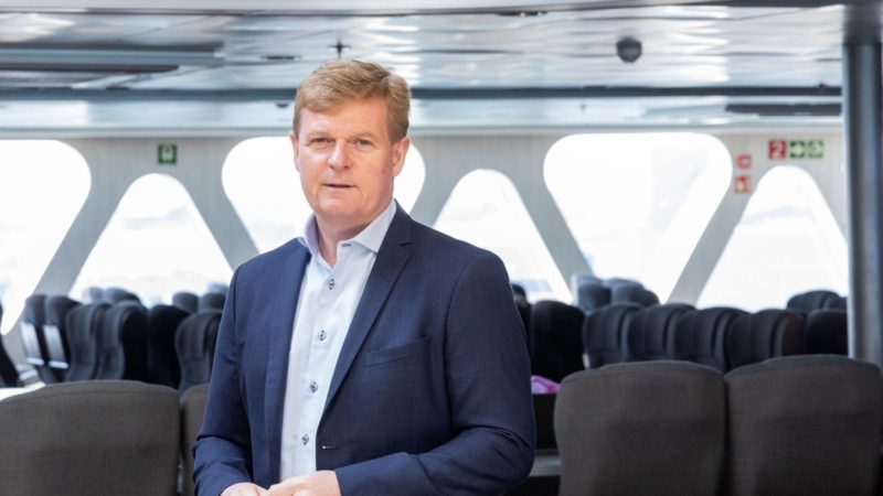 Brian Thorsted Hansen, CEO Fjord Line